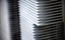 Heatsink CNC gefreesd