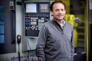 Otto Staleman, directeur van Deltour Heatsinks en Precision Manufactoring
