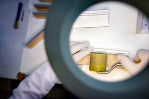 Wij kunnen producten inclusief geplakte interfacematerialen leveren.