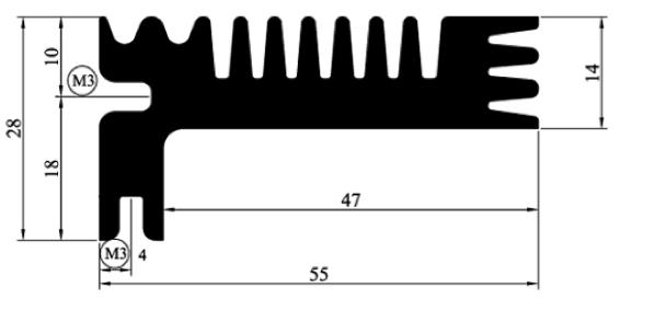 DEF94 heatsink Deltour. Bekijk complete aanbod geëxtrudeerde of bijzondere heatsinks en bewerkingen. Vrijwel alle heatsinks op voorraad. ISO 9001 certified