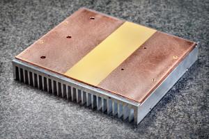 Heatsink, koperen spreader plate