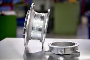 CNC bewerken van zandgegoten producten