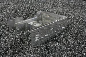 Behuizing uit massief aluminium